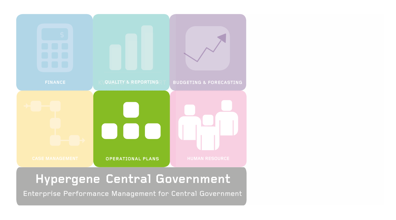 Logotype Hypergene Central Government - Operational plan